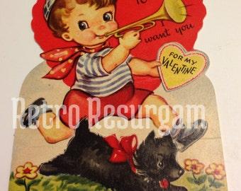 1940's Bugle Boy Valentine's Day Card