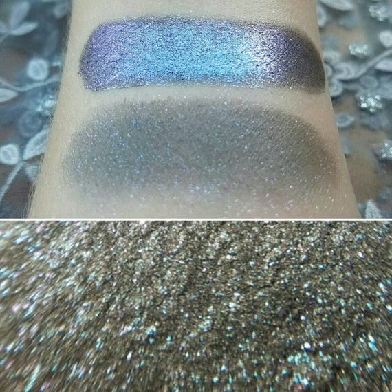 Siren Song - Color Shifting Blue, Violet, & Green with a Grey-Black Base, Mineral Eyeshadow, Mineral Makeup
