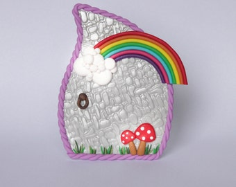 Rainbow Fairy Door