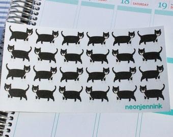 Tuxedo Cat Stickers