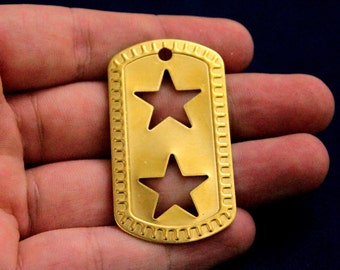 popular items for brass dog tag blanks on etsy
