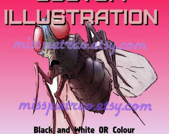 Custom Book Illustration Various Styles Available delivered High Resolution
