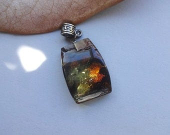 Baltic Amber jewelry- pendant 25x18 mm