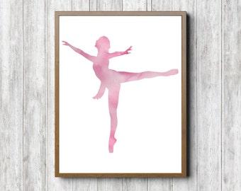 Ballet Wall Art ballerina wall art | etsy