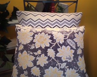 Set Of Two Pillow Slip Covers