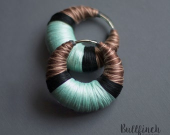 Earrings- good as ear weights | gauges | tunnels | piercing freaks :)