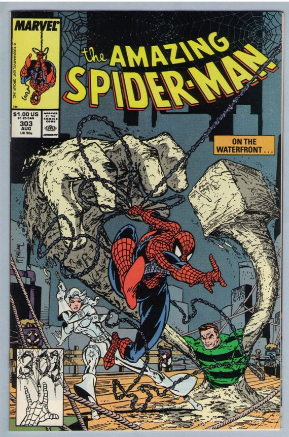 Amazing Spider-man 303 Aug 1988 NM- (9.2)
