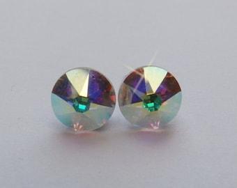 Swarovski crystal stud earrings