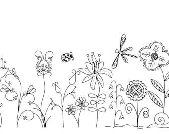 Botanical Doodle Set