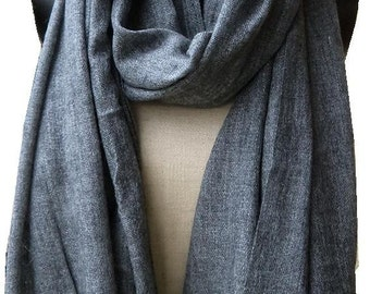 Cashmere wool handwoven scarf