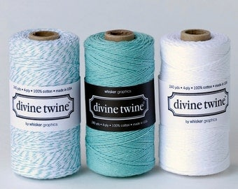 Divine Twine in Teal- (240 yds)