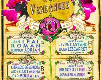 Poster Feria Nimes 2012 Vendanges