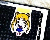 SAILORMOON Magnetic Page Marker Bookmark for Planner and Books