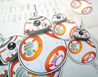 Star Wars BB-8 Vinyl Sticker