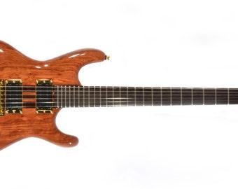 Electric Guitar - Bubinga-Wenge Neck-Thru