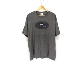 NIKE SHIRT // 90s // Large // Nike T-Shirt // Nike Shirt // 90s Nike // Tiger Woods Shirt // Nike Golf // Nike Shirt // Nike T-Shirt