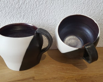 Cups with tea or coffee (sold by 2)