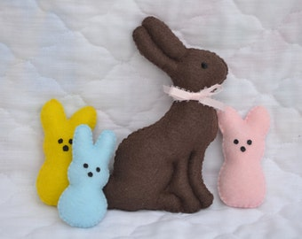 Easter Felt Play Food