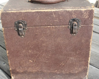 Old Record Box / Carrier