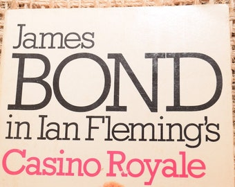 James Bond. Casino Royale by Ian Fleming. Paperback