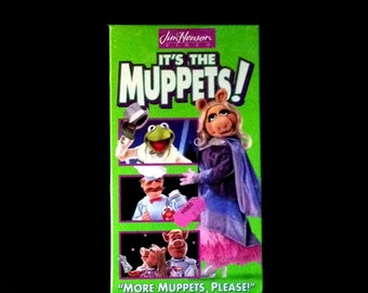 It's the Muppets  - More Muppets Please - Jim Henson Video - VHS Tape - New - Original Shrink Wrap - Kermit - Miss Piggy - The Muppet Cast