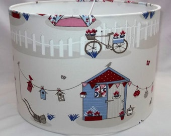 Handmade lampshade - Summer Holiday