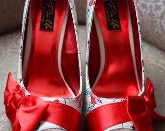 "Shoe fashion brand ""Pinup couture"" Tatoo"