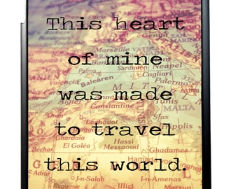 Made To Travel Quote For iPad 2/3/4 iPad Mini 1/2 and iPad Air