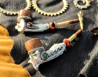 Peruvian Pipe - Traditional Pipe of South America