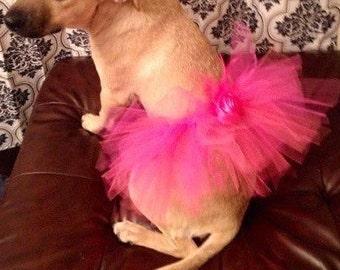 Dog Tutu, Dog Skirt, Pet Tutu