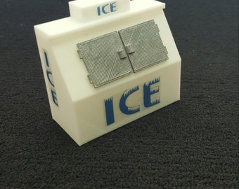 1/24 & 1/25 Diorama Accessory Ice Machine