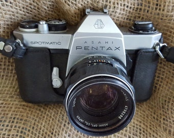 Asahi Pentax Spotmatic SPII 35mm Camera great for student/photography equip