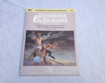 Dungeons & Dragons The Wrath of Olympus