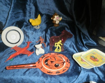 1950s Lot of 11  items from an old box of forgotten collectibles 2nd batch