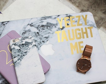 Yeezy Taught Me Sticker / Vinyl Decal / Laptop Sticker / Car Decal / VNL Company
