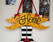 There's No Place like Home door hang
