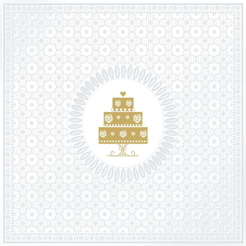 Wedding Cake PAPER NAPKINS Wedding Napkins Anniversary