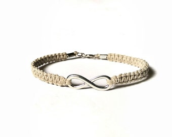 Infinity Bracelet -Gifts For Girlfriend, Eternity Bracelet, Love Bracelet, Gift For Her, Infinity Jewelry, Gift For Wife, Girlfriend Jewelry