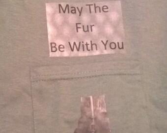 Star Wars Kitten T- shirt Design Graphic Art