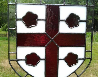 Custom Stained Glass Crest
