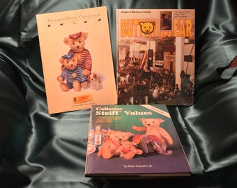 Steiff Books - collectors, teddy bear, steiff bear, 'button in the ear'