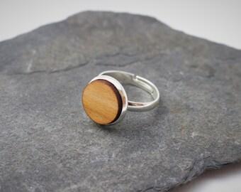 Round Wooden Ring