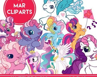 50% OFF MY LITTLE pony 2 cliparts