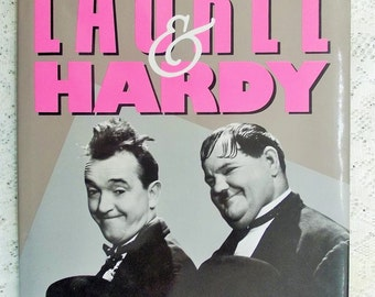 "1992 Book, ""Laurel & Hardy"" by Annie McGarry, First Hardback Edition with dust jacket"