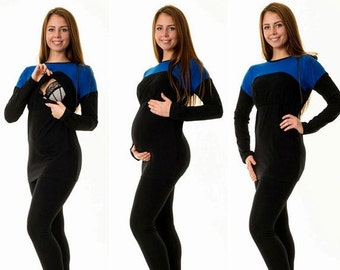 3-in-1 maternity blouse still blouse maternity wear