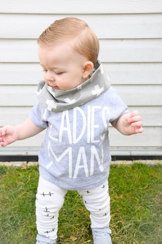 Ladies man shirt trendy toddler clothes toddler boy