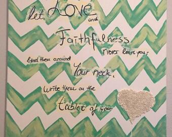 Verse on Canvas