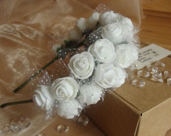 White Flower Headband, Flower Hairband, Hair Accessory, Girl Women Hair Jewelry, Gift For Her, Bridal Wedding Headband