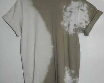 Unique Tie Dye T-Shirt acid wash T-shirt hipster festival grunge Retro 90s indie dip dye unisex rave skate top