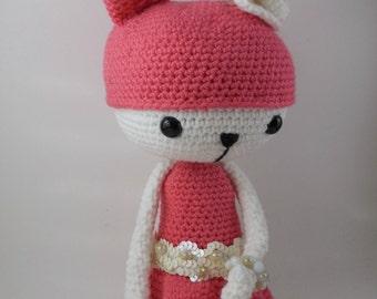 Amelia - Amigurumi Doll Crochet Pattern